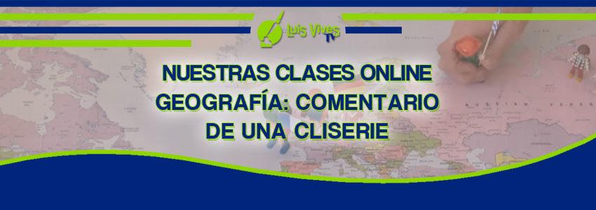 Clases online de Geografía - Centro de Estudios Luis Vives