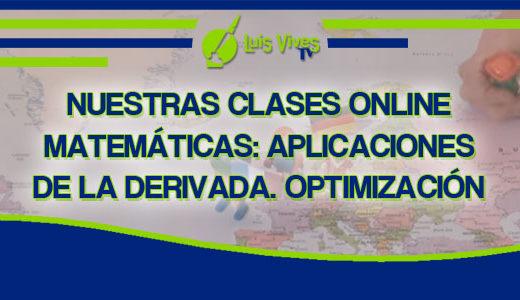 Clases online de Selectividad de Matemáticas - Centro de Estudios Luis Vives